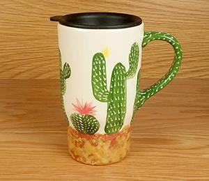 Valencia Cactus Travel Mug