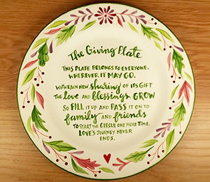 Valencia The Giving Plate