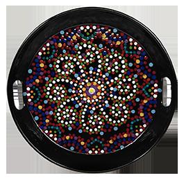 Valencia Mosaic Mandala Tray