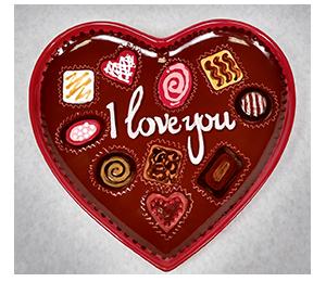 Valencia Valentine's Chocolate